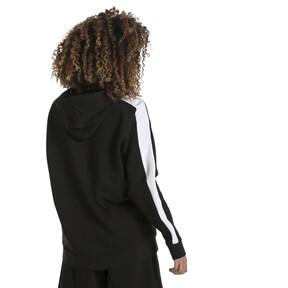 Thumbnail 3 of Classics Logo T7 Women's Hoodie, Cotton Black, medium