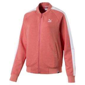 Thumbnail 1 of Classics Logo T7 Women's Track Jaket, Shell Pink, medium
