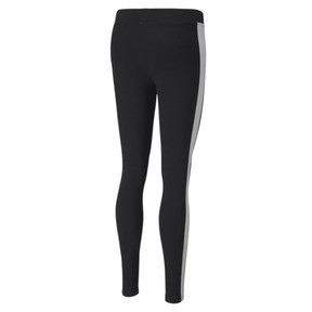 Thumbnail 5 of Classics Logo T7 Women's Leggings, Cotton Black, medium