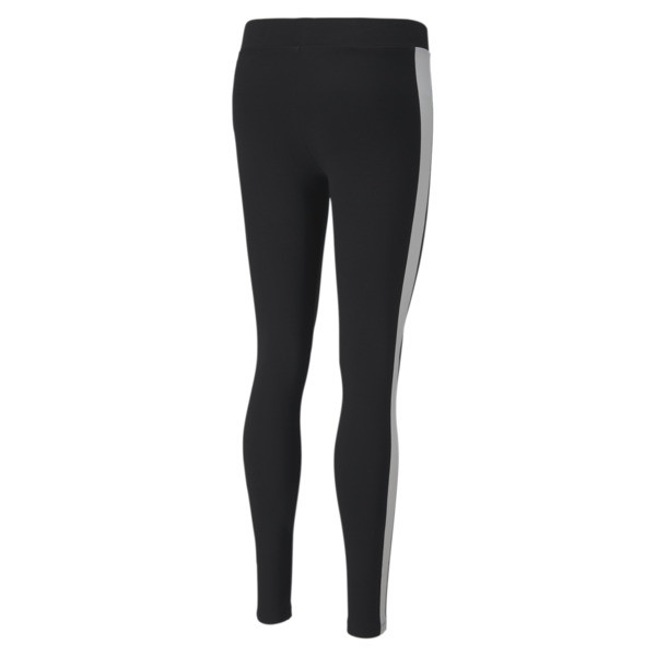 Classics Logo T7 Women's Leggings, Cotton Black, large