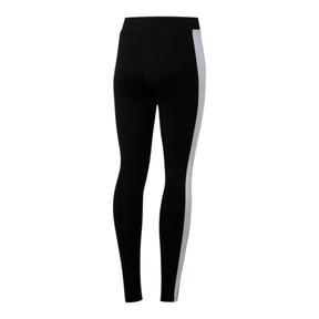 Miniatura 3 de Leggings para mujer Classics Logo T7, Cotton Black, mediano