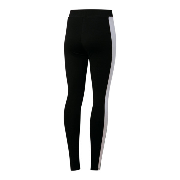 Leggings para mujer Classics Logo T7, Cotton Black, grande