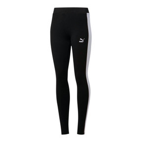 Miniatura 2 de Leggings para mujer Classics Logo T7, Cotton Black, mediano