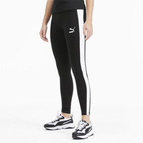 Thumbnail 1 of Classics Logo T7 Women's Leggings, Cotton Black, medium
