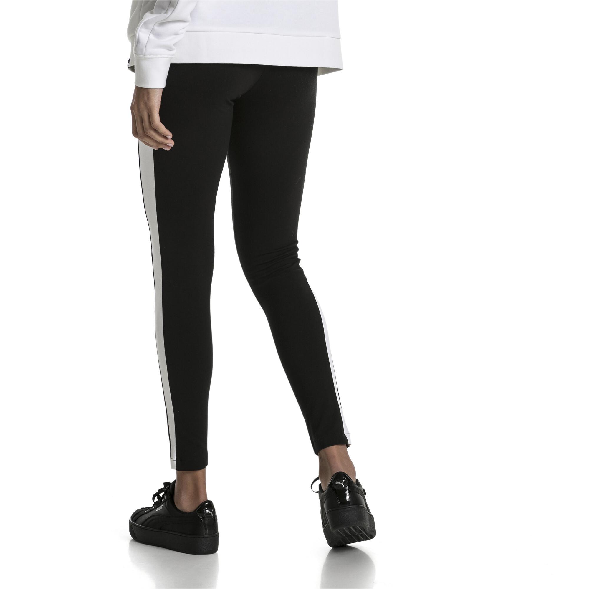Image Puma Women's Classics Logo T7 Leggings #2