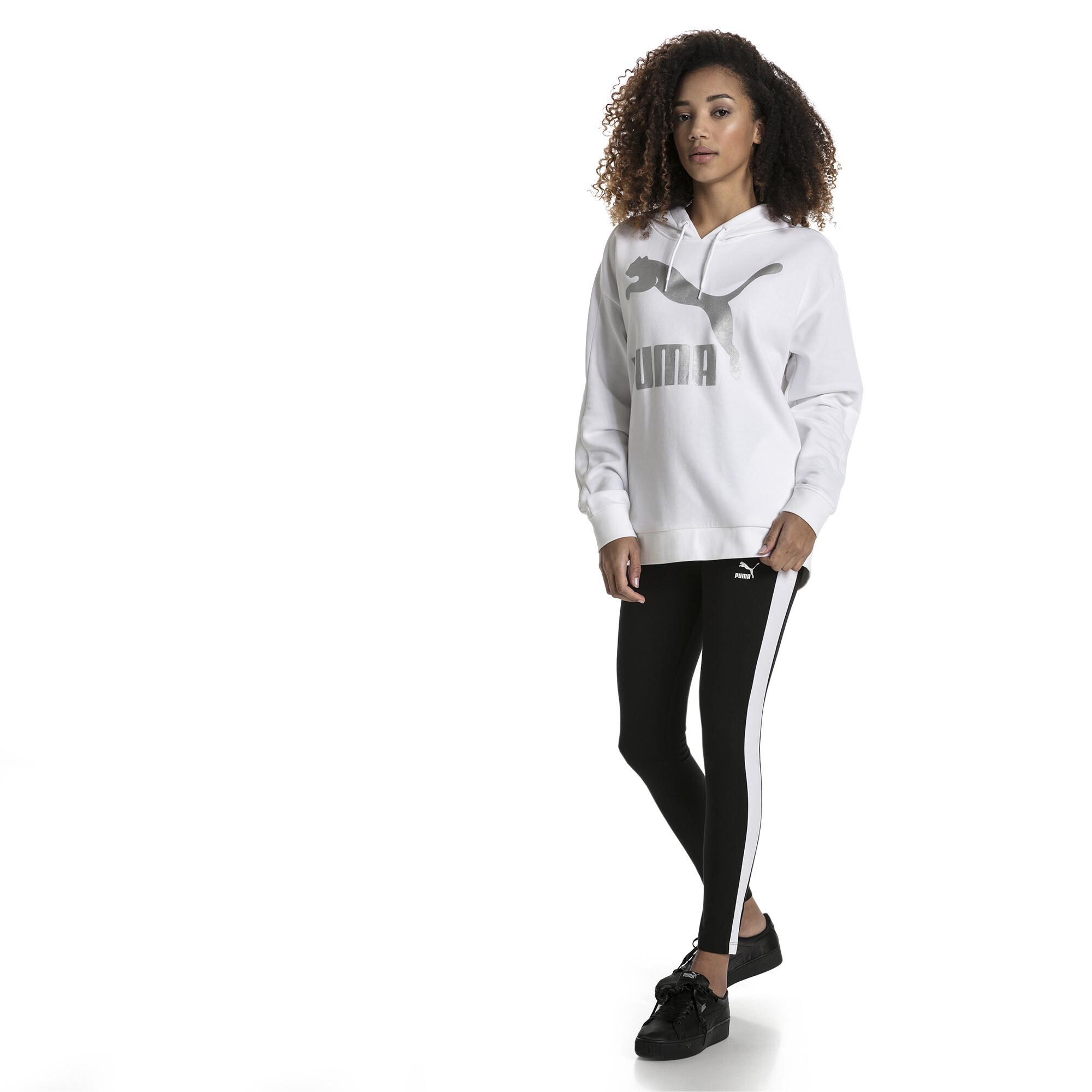 53c5e208576f2 Women's Classics Logo T7 Leggings | 10 - Black | Puma