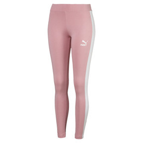 Thumbnail 4 of Classics Logo T7 Legging, Bridal Rose, medium