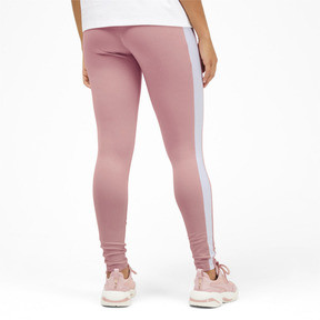 Thumbnail 2 of Classics Logo T7 Legging, Bridal Rose, medium