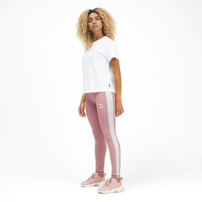 Thumbnail 3 of Classics Logo T7 Legging, Bridal Rose, medium