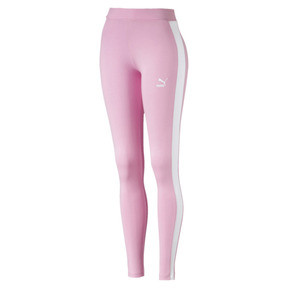Thumbnail 1 of Legging PUMA Classics Logo T7 , Pale Pink, medium