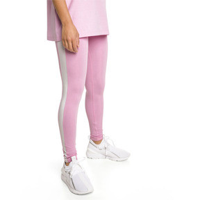 Thumbnail 2 of Legging PUMA Classics Logo T7 , Pale Pink, medium