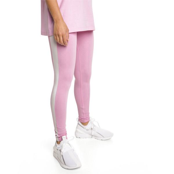 Legging PUMA Classics Logo T7, Pale Pink, large
