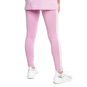 Thumbnail 3 of Legging PUMA Classics Logo T7 , Pale Pink, medium