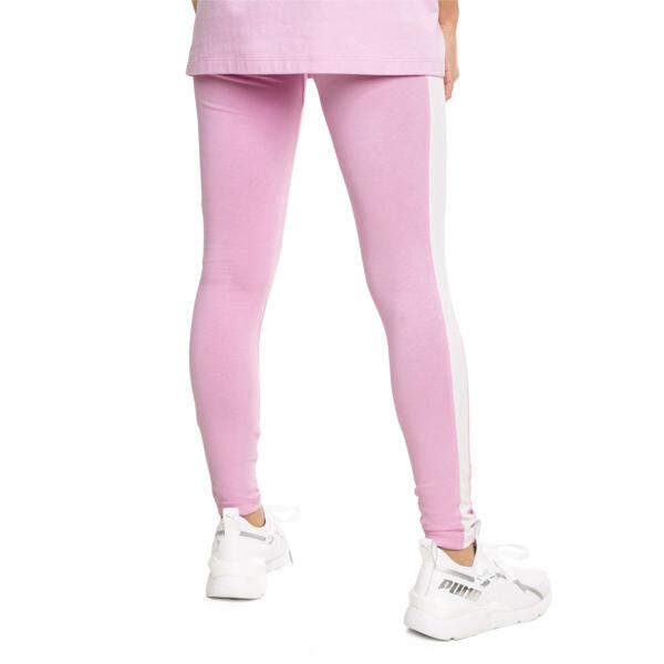 Classics Logo T7 Women's Leggings, Pale Pink, large