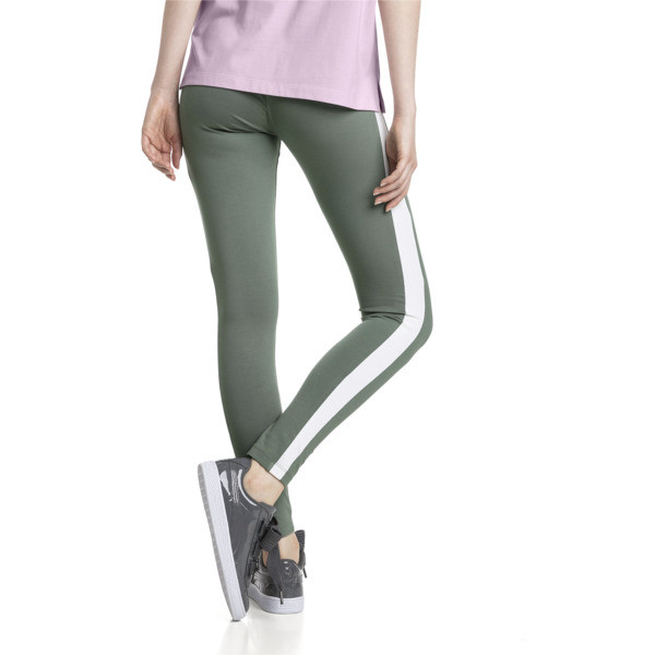 Classics Logo T7 Women's Leggings, Laurel Wreath, large