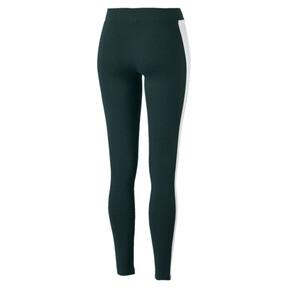 Imagen en miniatura 5 de Leggings clásicos con logo de mujer T7, Ponderosa Pine, mediana