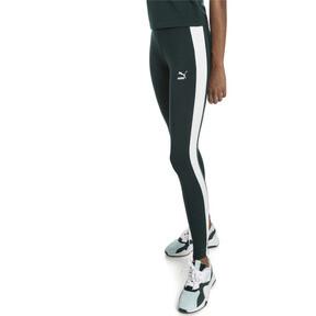 Imagen en miniatura 1 de Leggings clásicos con logo de mujer T7, Ponderosa Pine, mediana