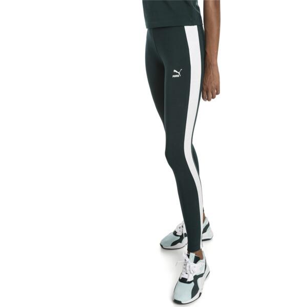 Leggings clásicos con logo de mujer T7, Ponderosa Pine, grande