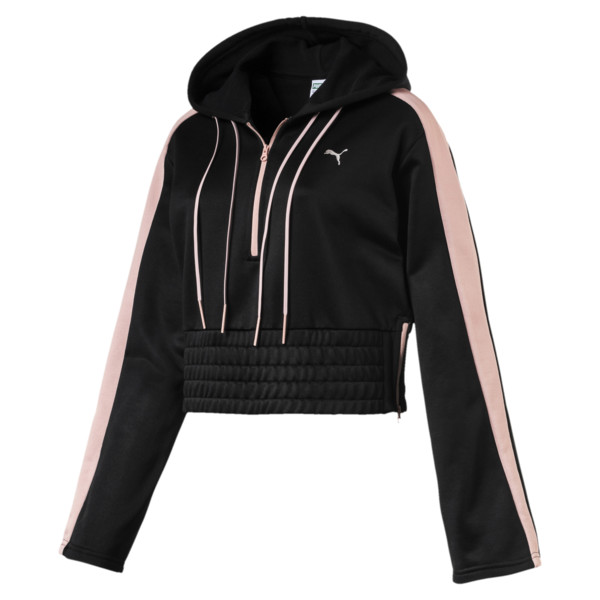 8df4833c2b2 En Pointe Savannah Women's Half Zip Hoodie | PUMA Long Sleeve T ...