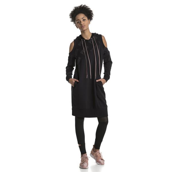 Vestido de mujer En Pointe, Cotton Black, grande
