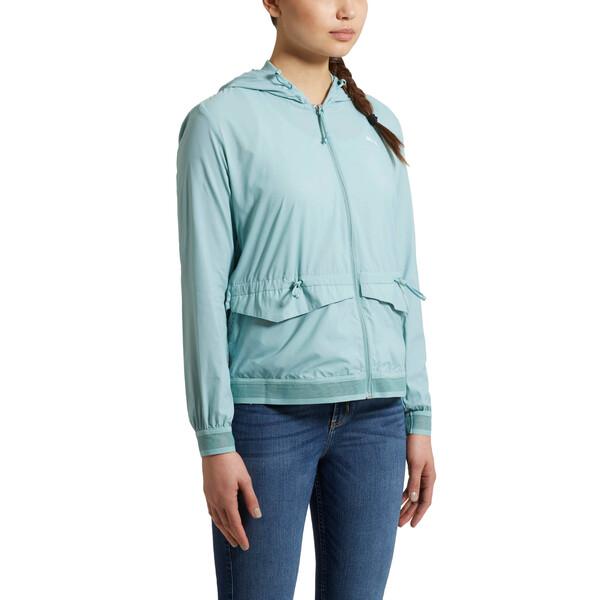 Evo Foldable Women's Windrunner, Aquifer, large