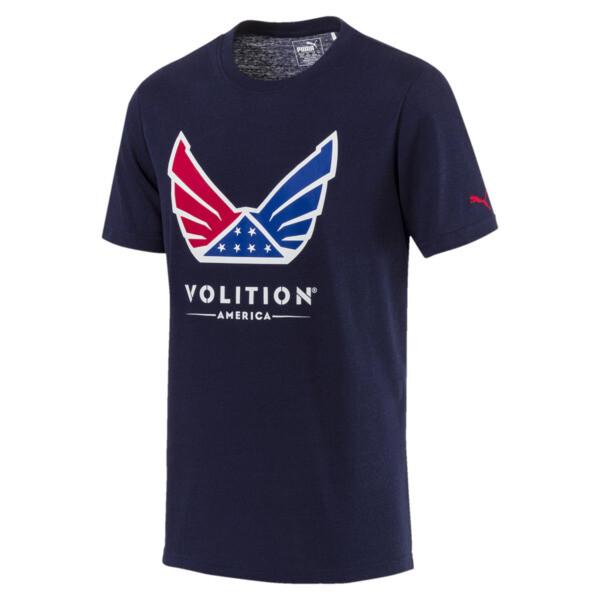 Volition Men's Tee, Peacoat, large