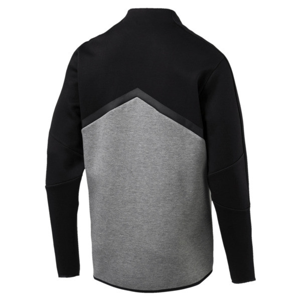 MERCEDES AMG PETRONAS T7 Men's Sweat Jacket, Puma Black, large