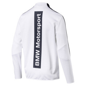 Thumbnail 4 of BMW Motorsport T7 Men's Track Jacket, Puma White, medium