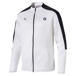 Thumbnail 1 of BMW Motorsport T7 Men's Track Jacket, Puma White, medium