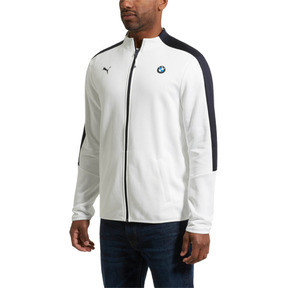 Thumbnail 2 of BMW Motorsport T7 Men's Track Jacket, Puma White, medium
