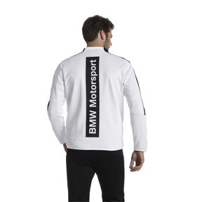 Thumbnail 3 of BMW Motorsport T7 Men's Track Jacket, Puma White, medium