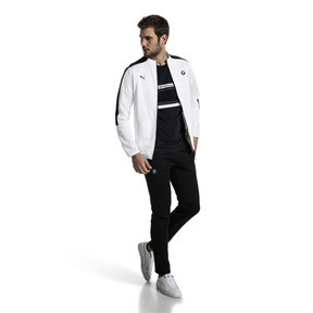 Thumbnail 5 of BMW Motorsport T7 Men's Track Jacket, Puma White, medium