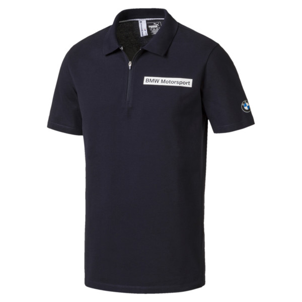 BMW Motorsport Herren Polo, Team Blue, large