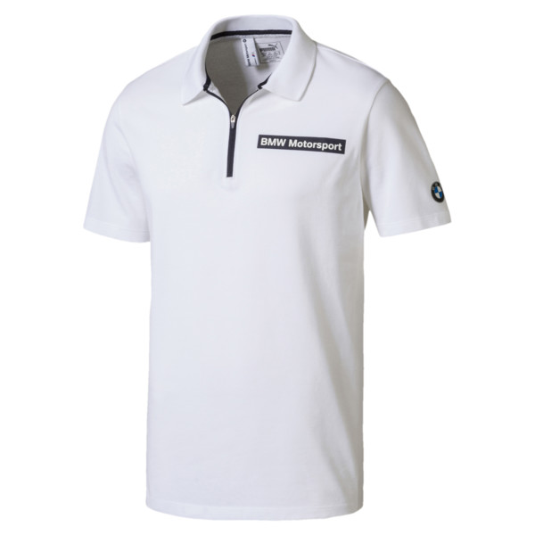 5ad26f9b BMW Motorsport Men's Polo Shirt | Puma White | PUMA Shoes | PUMA ...