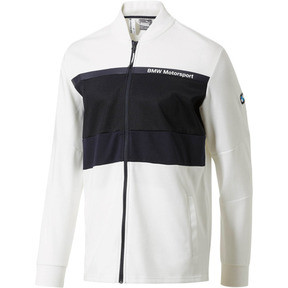 Thumbnail 1 of BMW Motorsport Men's Sweat Jacket, Puma White, medium