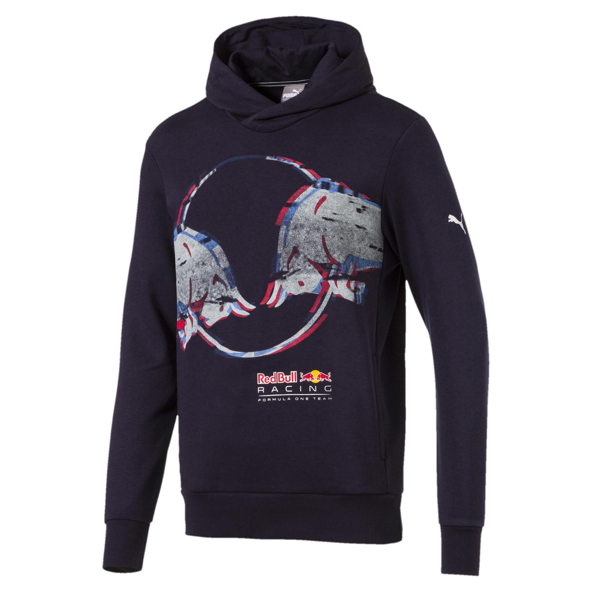 Image Puma Men's Red Bull Racing Double Bull Hoodie #1