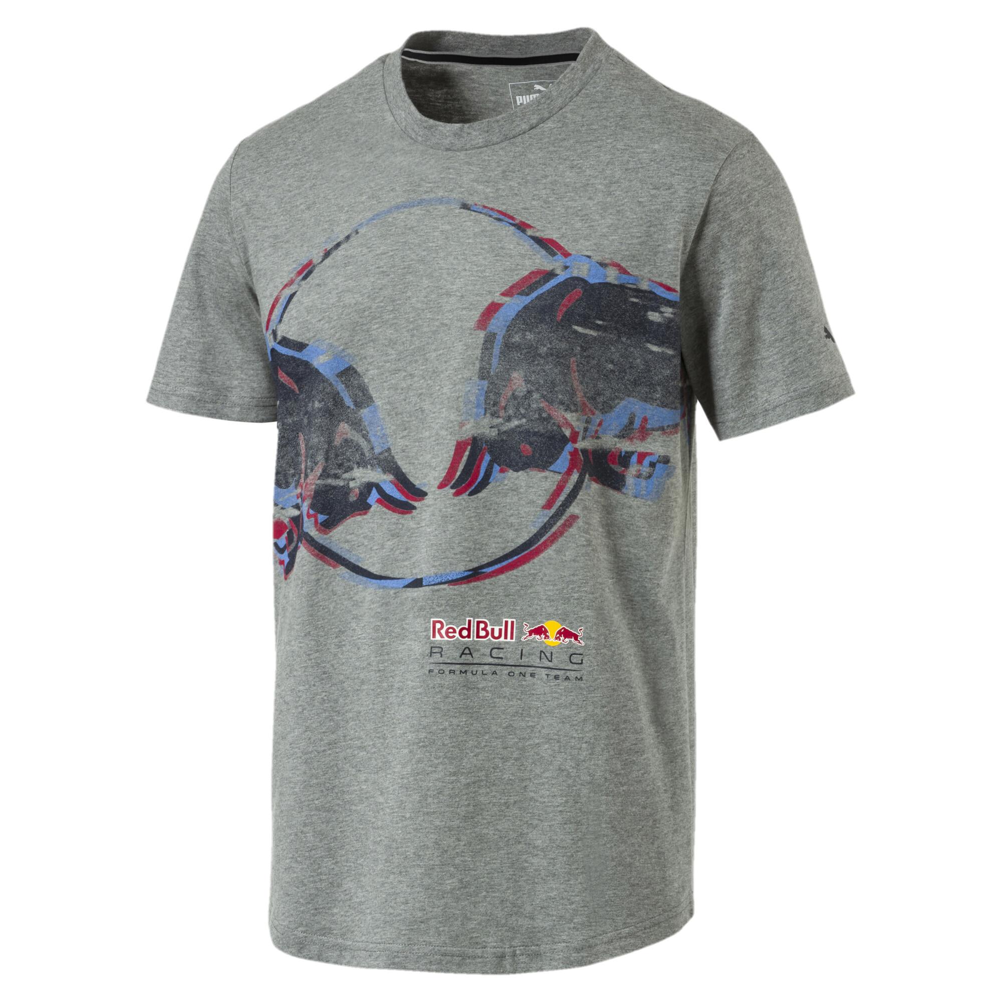 f2bea9b6 Men's Red Bull Racing Double Bull T-Shirt | 30 - Gray | Puma