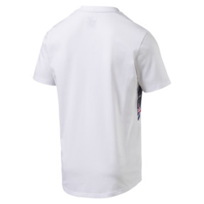 Thumbnail 4 of Red Bull Racing Men's Double Bull Tee, Puma White, medium