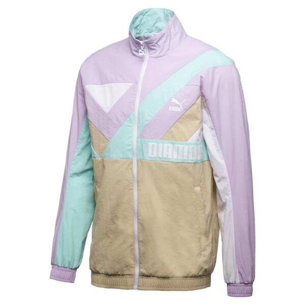 PUMA x DIAMOND Wind Jacket, Puma White, large