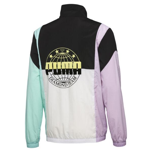 PUMA x DIAMOND Savannah Track Jacket, Puma Black, large