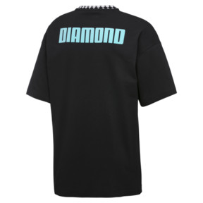 Thumbnail 4 of PUMA x DIAMOND Oversize T-Shirt, Puma Black, medium