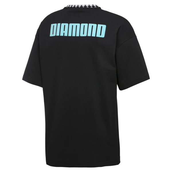 PUMA x DIAMOND Oversize T-Shirt, Puma Black, large
