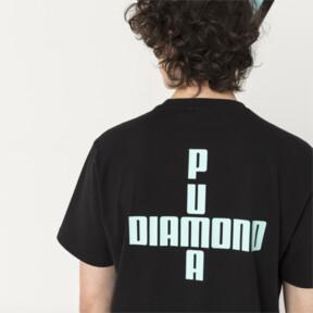Thumbnail 3 of PUMA x DIAMOND Men's Logo T-Shirt, Puma Black, medium