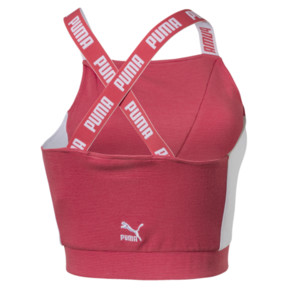 Thumbnail 3 of Archive Women's Crop Top, Spiced Coral, medium
