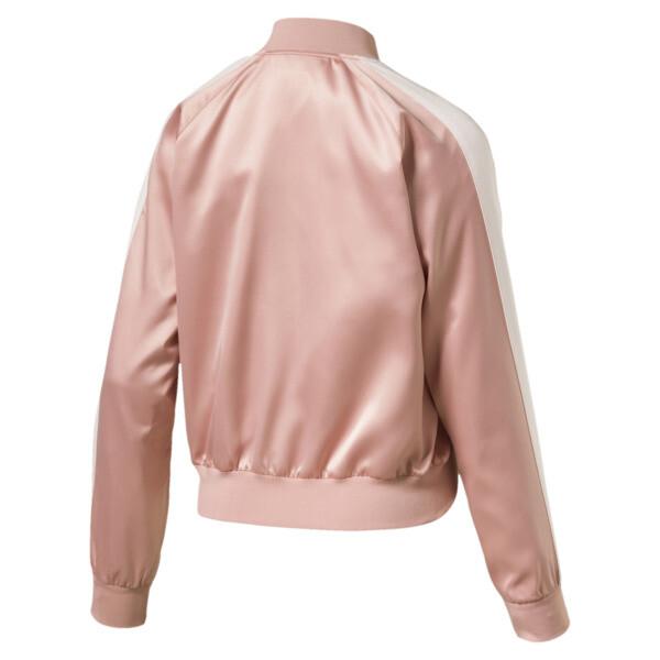 En Pointe Satin T7 Women's Jacket, Peach Beige, large