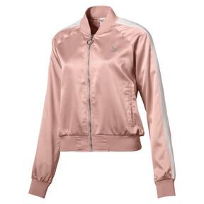 Thumbnail 1 of En Pointe Satin T7 Women's Jacket, Peach Beige, medium