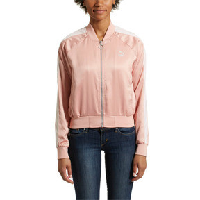 Thumbnail 2 of En Pointe Satin T7 Women's Jacket, Peach Beige, medium