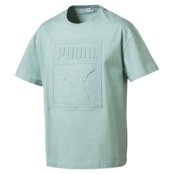 916d79ea45c Archive Embossed Print Men's Short Sleeve T-Shirt | PUMA Shoes ...