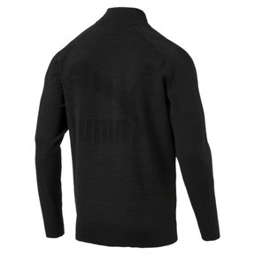 Thumbnail 3 of Men's T7 evoKnit Jacket, Puma Black, medium