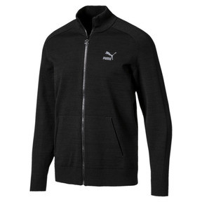 Thumbnail 1 of Men's T7 evoKnit Jacket, Puma Black, medium